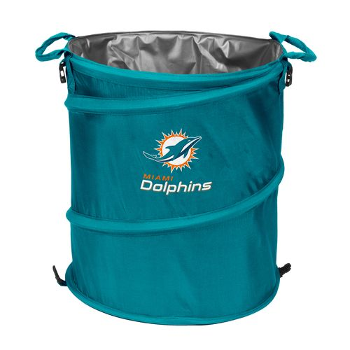 Logo™ Miami Dolphins Collapsible 3-in-1 Cooler/Hamper/Wastebasket