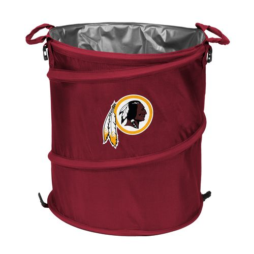 Logo™ Washington Redskins Collapsible 3-in-1 Cooler/Hamper/Wastebasket