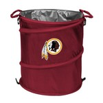 Logo Washington Redskins Collapsible 3-in-1 Cooler/Hamper/Wastebasket