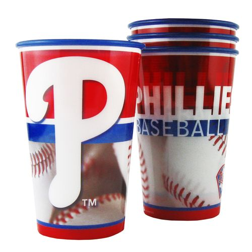 Boelter Brands Philadelphia Phillies 20 oz. Souvenir Cups 8-Pack