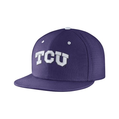 Nike™ Men's Texas Christian University True Vapor Fitted Cap