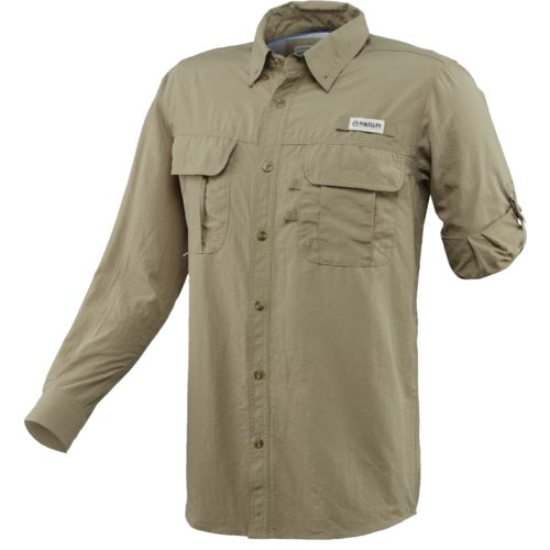 Magellan Outdoors Men's FishGear Laguna Madre Long Sleeve Fishing Shirt