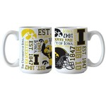 Boelter Brands University of Iowa Spirit 15 oz. Coffee Mugs 2-Pack