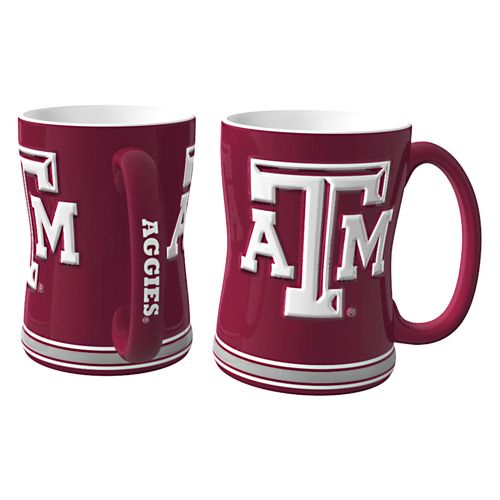 Boelter Brands Texas A&M University 14 oz. Relief Mugs 2-Pack - view number 1