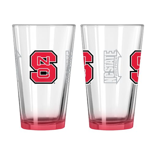 Boelter Brands North Carolina State University Elite 16 oz. Pint Glasses 2-Pack