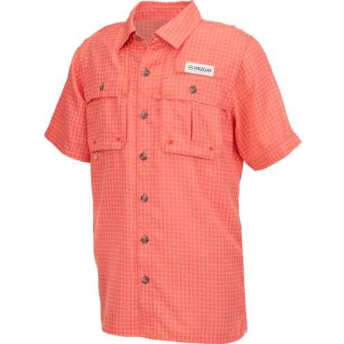 Magellan Outdoors™ Boys' Aransas Pass Short Sleeve Fishing Shirt