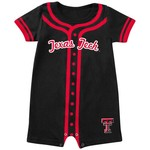 Colosseum Athletics Infants' Texas Tech University Baseball Romper