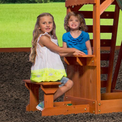 Backyard Discovery™ Weston Wooden Swing Set - view number 5