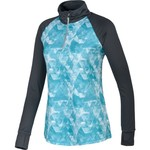 BCG™ Women's Printed 1/4 Zip Mock Running Pullover