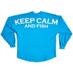 Above Wings™ Adults' Wing Back™ Keep Calm and Fish Long Sleeve Shirt