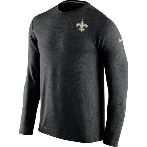 Nike Men's New Orleans Saints Dri-FIT Touch Long Sleeve T-shirt