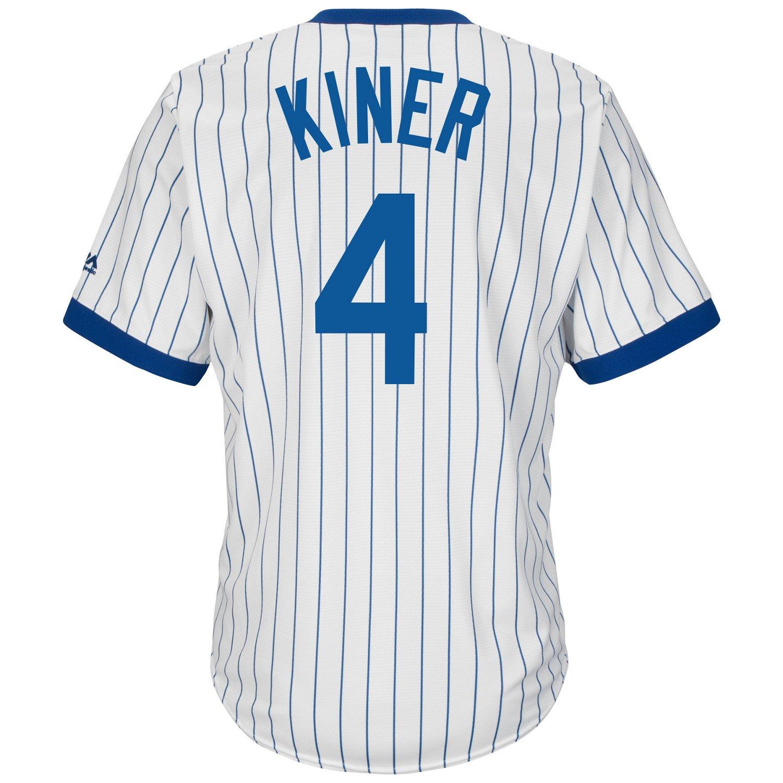 Majestic Men's Chicago Cubs Ralph Kiner #4 Cooperstown