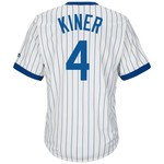 Majestic Men's Chicago Cubs Ralph Kiner #4 Cooperstown Cool Base 1968-69 Replica Jersey
