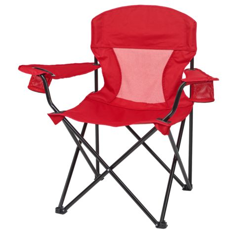 academy sports outdoors oversize mesh logo chair - Folding Outdoor Chairs