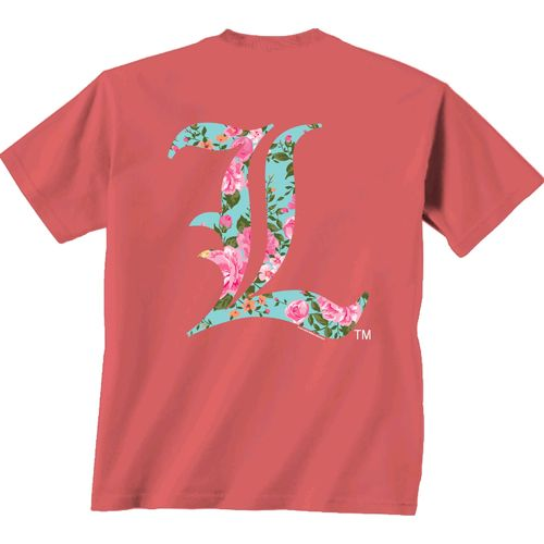 New World Graphics Women's University of Louisville Floral T-shirt
