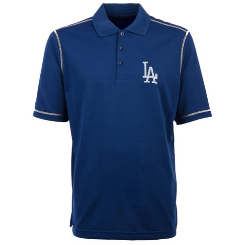 Antigua Men's Los Angeles Dodgers Icon Piqué Polo Shirt