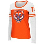 Colosseum Athletics™ Women's Sam Houston State University Hornet Football Long Sleeve T-shi