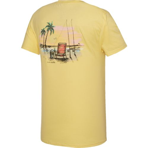 Salt Life Men's Beach Fishin' Short Sleeve T-shirt