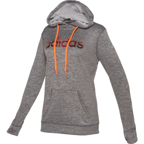 adidas Women's Team Issue Logo Fleece Pullover Hoodie