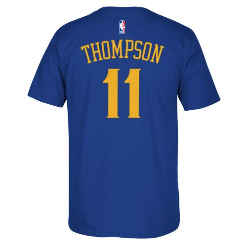 adidas Men's Golden State Warriors Klay Thompson No. 11 T-shirt