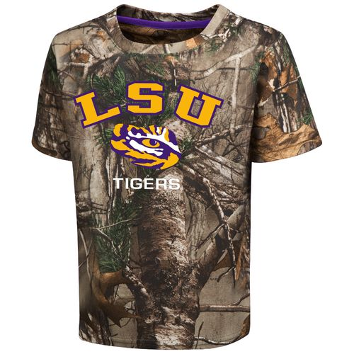 Colosseum Athletics™ Toddler Boys' Louisiana State University Blacktail Camo T-shirt