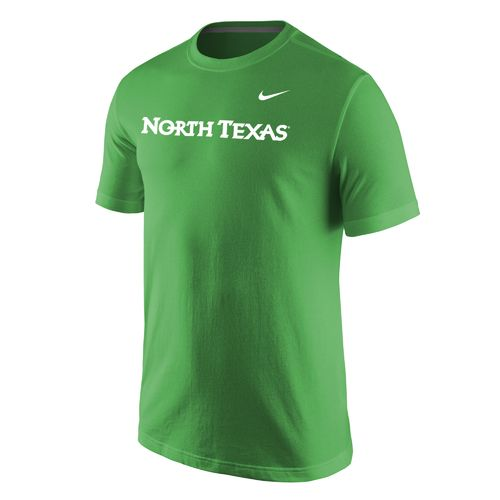 Nike™ Men's University of North Texas Wordmark T-shirt - view number 1