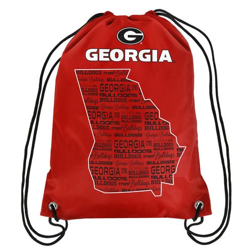 Forever Collectibles™ University of Georgia Drawstring Backpack
