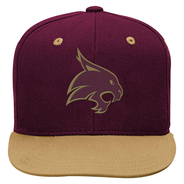 adidas™ Boys' Texas State University Snapback Cap