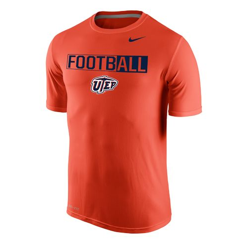Nike™ Men's University of Texas at El Paso Dri-FIT Legend 2.0 Short Sleeve T-shirt
