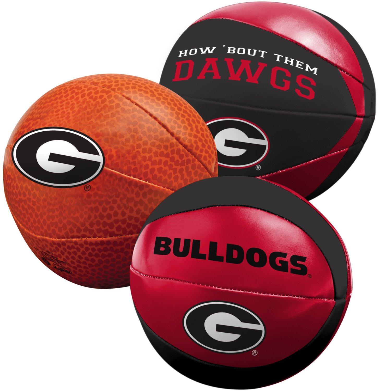 Rawlings® University of Georgia 3-Point Shot Softee Basketballs