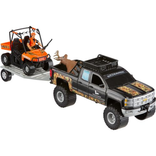 Tree House Kids Imagination Adventure Series Chevy Deluxe Hunting Playset