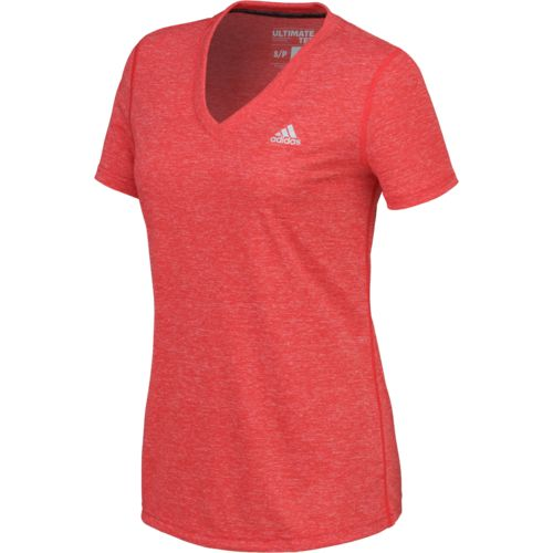 Display product reviews for adidas Women's Ultimate Short Sleeve V-neck T-shirt