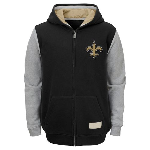 NFL Boys' New Orleans Saints Vintage Team Hoodie