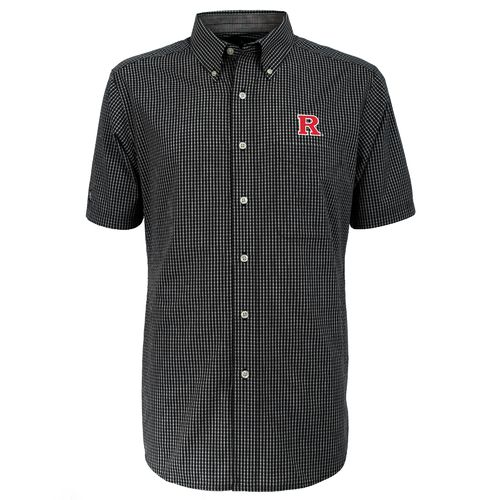 Antigua Men's Rutgers University League Short Sleeve Shirt - view number 1