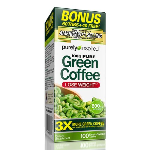 Purely Inspired® Green Coffee Bean Weight Loss Supplement