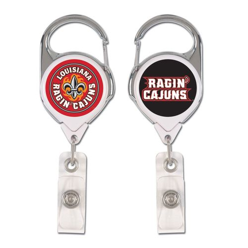 WinCraft University of Louisiana at Lafayette Retractable Premium Badge Holder