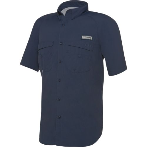 Col pfg baitcaster s s black small academy for Button down fishing shirts