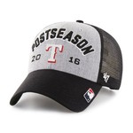 '47 Men's Texas Rangers 2016 Postseason Locker Room Cap