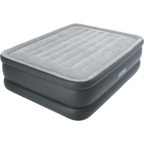 Display product reviews for INTEX Dura-Beam Essential Rest Queen-Size Airbed with Built-In Pump