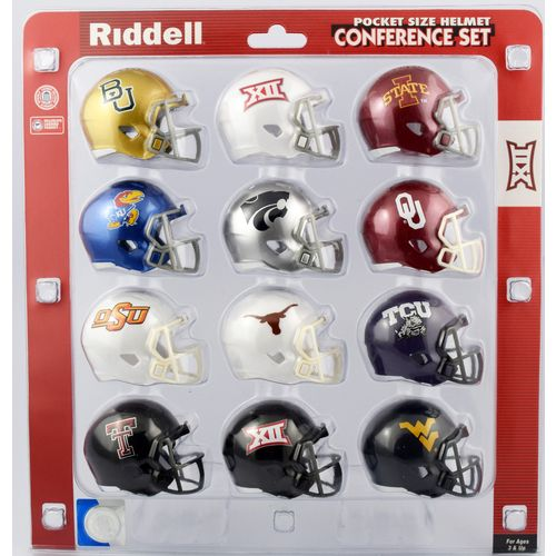 Riddell™ Big 12 Speed Pocket-Size Helmet Conference Set