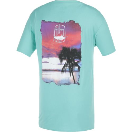 Guy Harvey Men's Lone Palm T-shirt