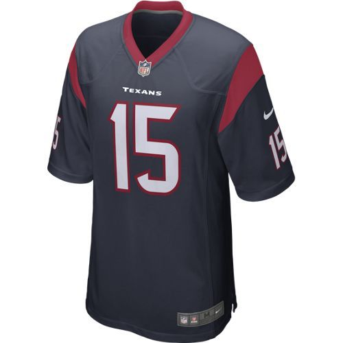 Nike Men's Houston Texans Will Fuller 15 Game Jersey - view number 2
