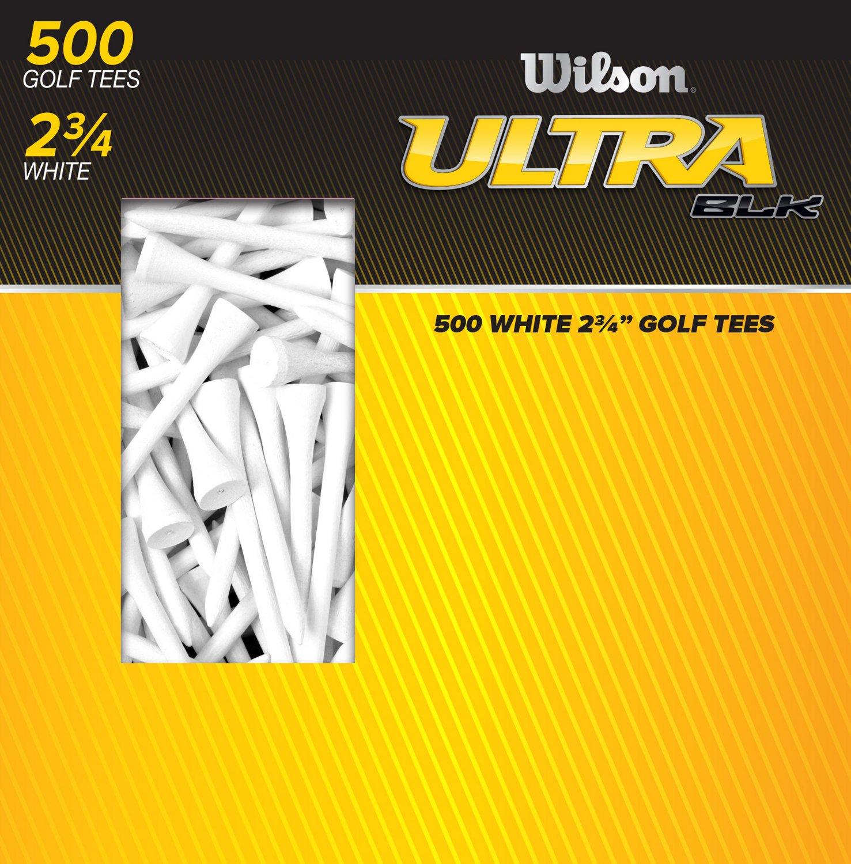 "Wilson™ Ultra BLK™ 2.75"" Golf Tees 500-Pack"