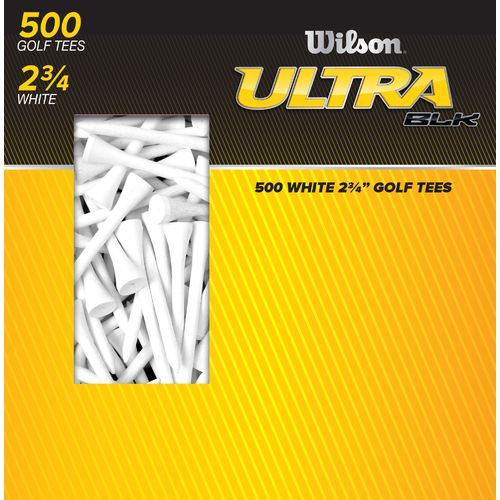 "Wilson™ Ultra BLK™ 2.75"" Golf Tees 500-Pack"