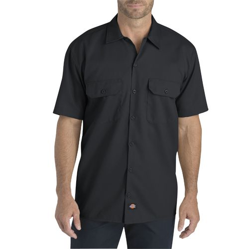 Dickies Men's Flex Relaxed Fit Short Sleeve Work Shirt - view number 1