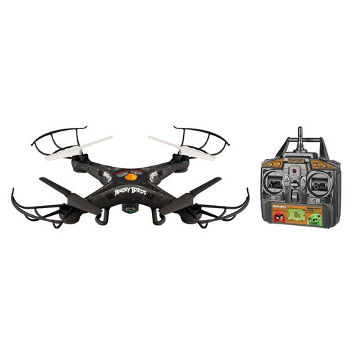 World Tech Toys Angry Birds Bomb Squawk-Copter RC Camera Drone