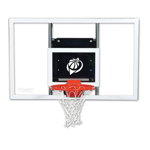 Goalsetter 54 in Wall Mounted Tempered-Glass Basketball Hoop - view number 1