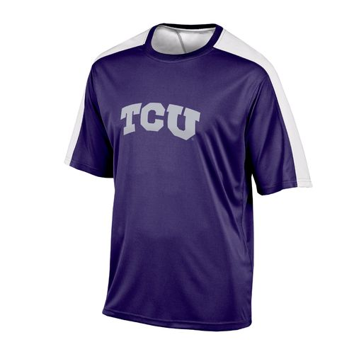 Champion™ Men's Texas Christian University Colorblock T-shirt - view number 1