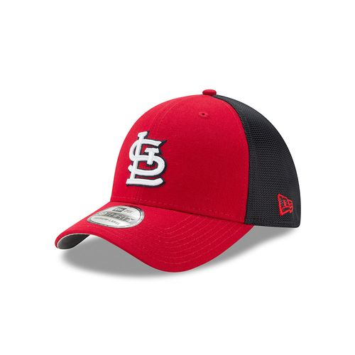 New Era Men's St. Louis Cardinals Team Brazen 39THIRTY Cap
