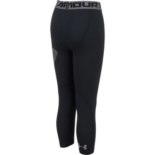 Under Armour Boys' 3/4 Logo Legging - view number 2